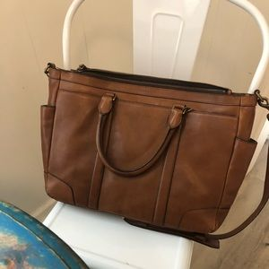 Authentic Coach Mens business bag